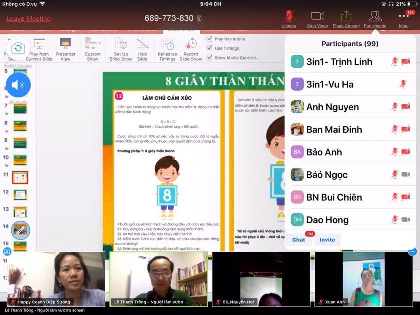 Lớp học trí tuệ cảm xúc online - Lê Thanh Trông