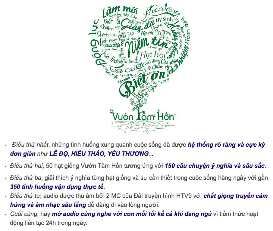 tặng 50 audio Vườn Tâm Hồn Trần Quốc Phúc